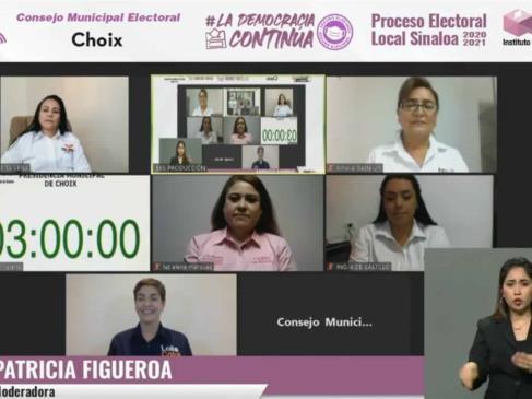 Debaten aspirantes a la Presidencia Municipal de Choix