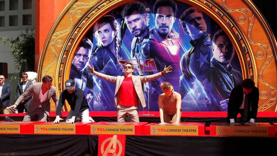 Los Avengers desembarcan en Disneyland tras esquivar la pandemia