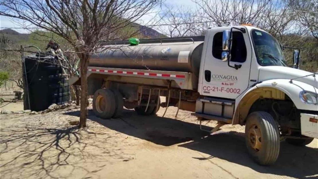 Suman más de 60 comunidades sin agua en El Fuerte por sequía