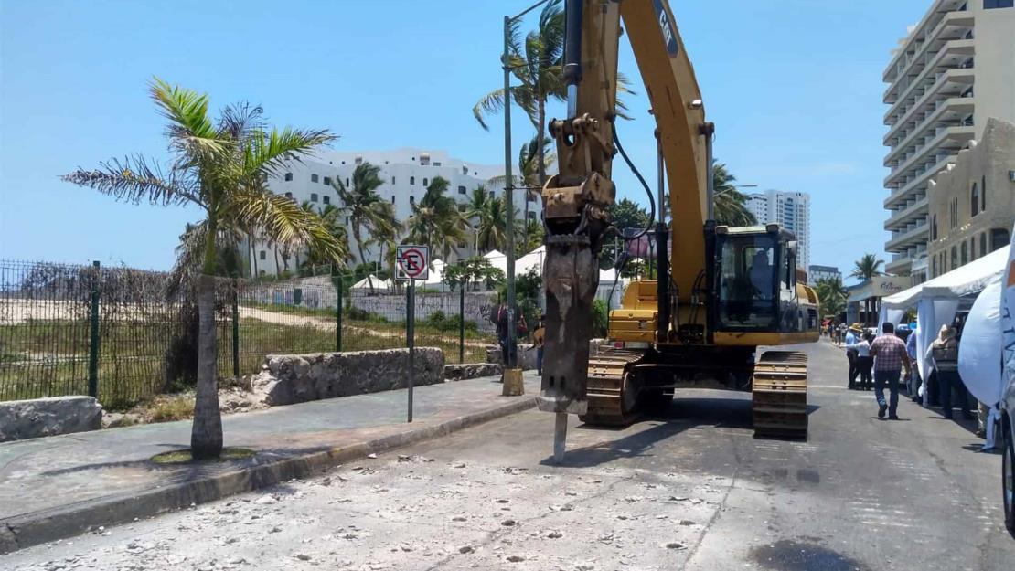 Arranca remodelación de 2.1 km de la avenida Gabriel Leyva y Zona Dorada en Mazatlán
