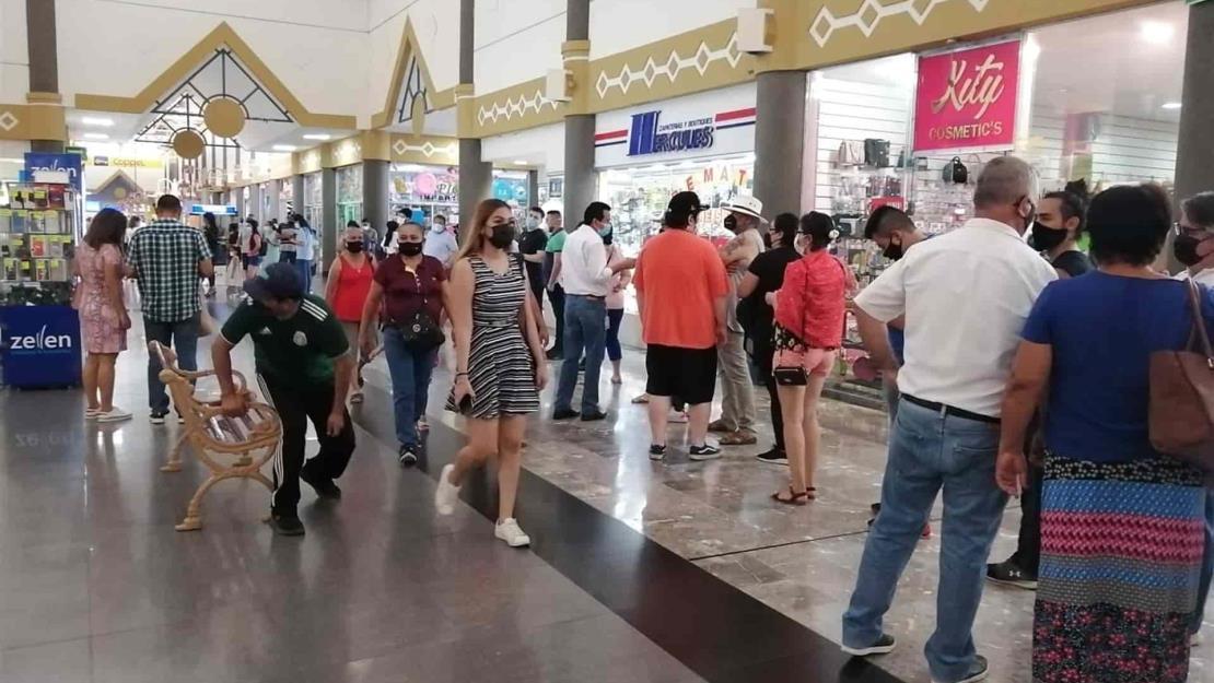 Aumento de casos covid en Mazatlán no afecta actividad económica