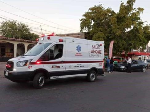 Caída de estructura deja a tres personas lesionadas en Los Mochis