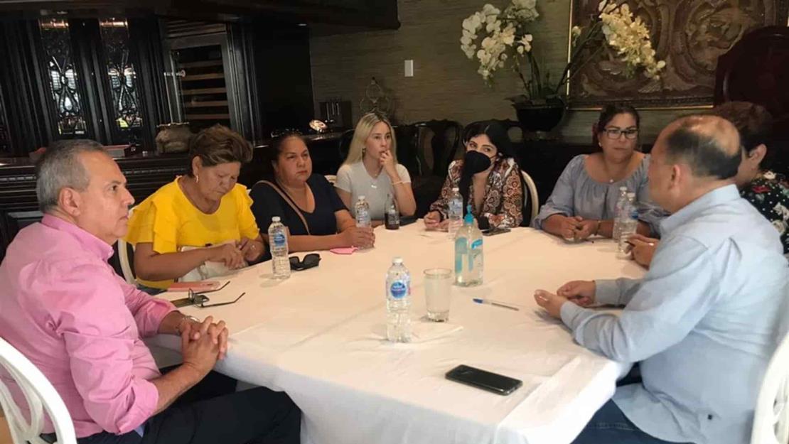 Gerardo Vargas se reúne con colectivos de búsqueda de desaparecidos