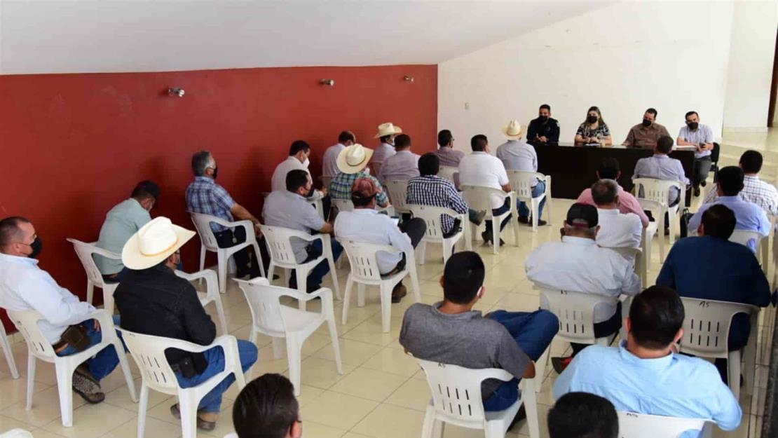 Se coordinan autoridades para combatir la quema de soca en Salvador Alvarado