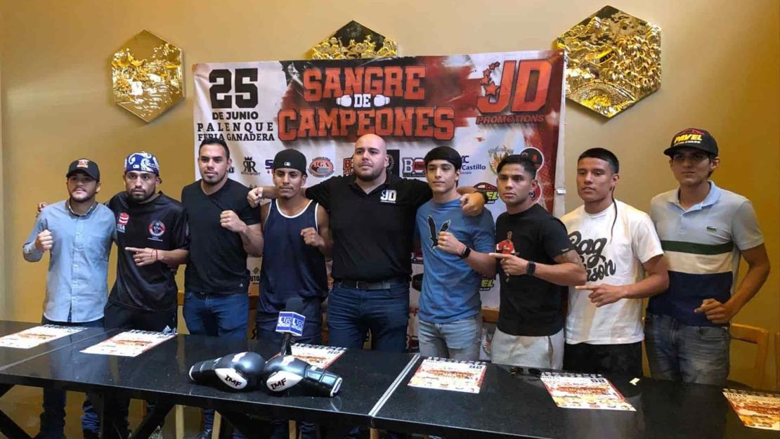 """Regresa el boxeo a Culiacán con """"Sangre de Campeones"""""""