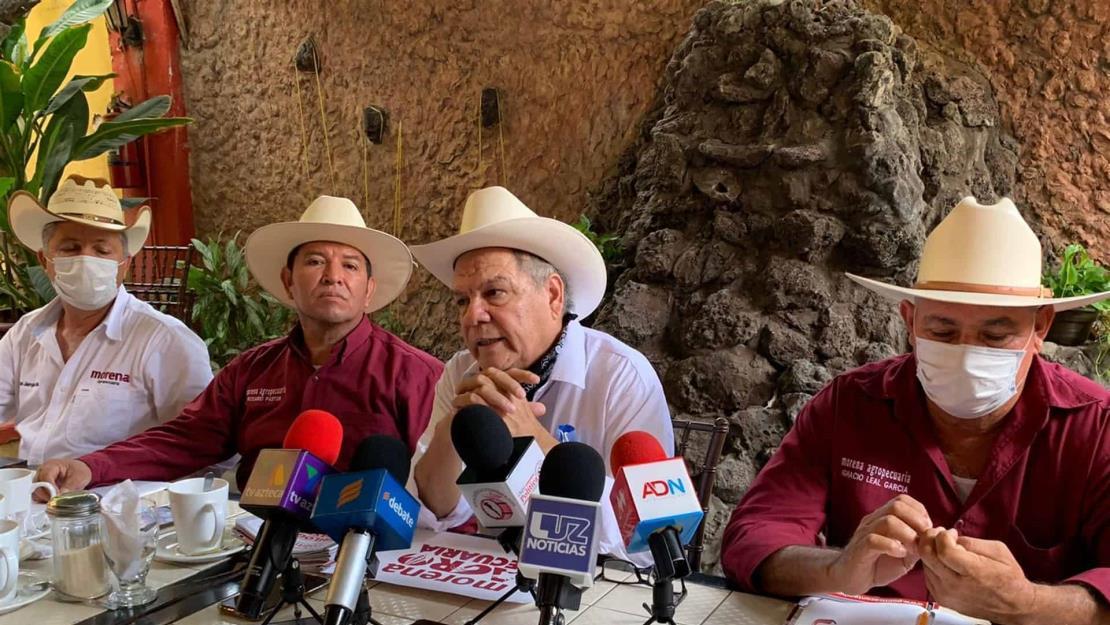 Morena Agropecuaria pide explicación jurídica de cuotas