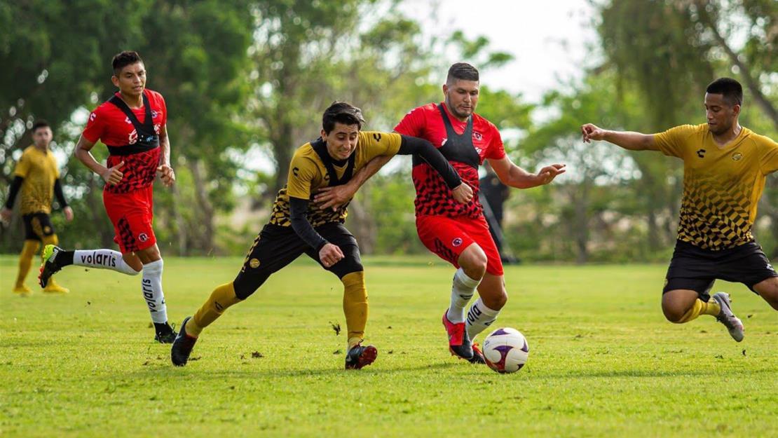 Arrancan partidos de preparación para Dorados de Sinaloa