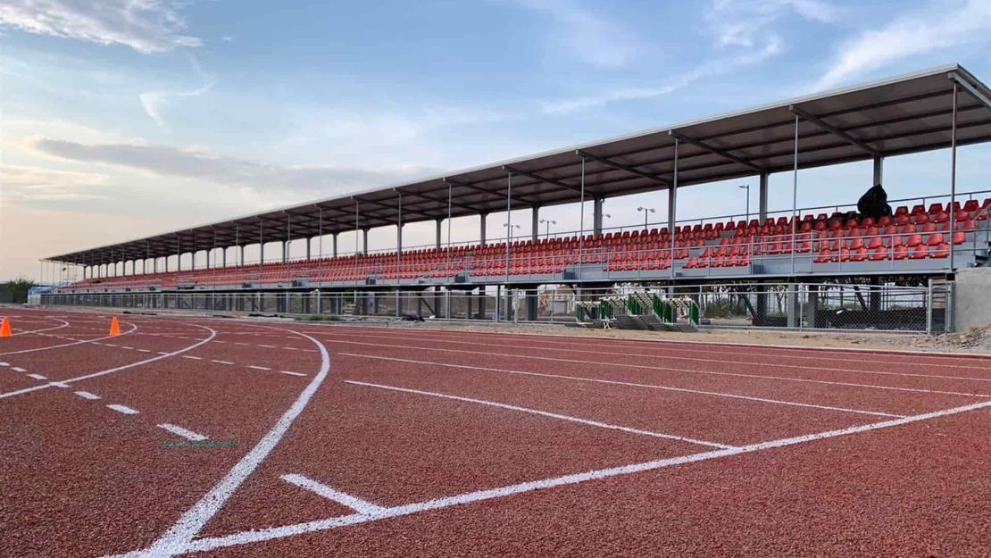Casi terminado el Centro de Atletismo en Culiacán
