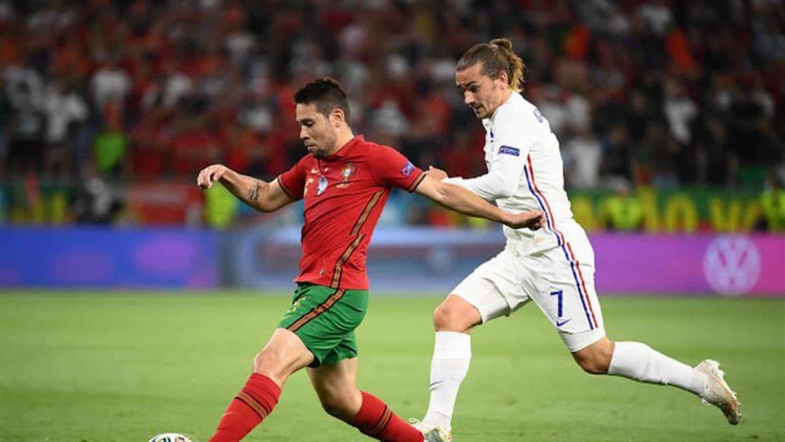 Los franceses dividen puntos contra los portugueses en un juego de ida y vuelta