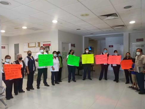 Llegan a acuerdos en el Centro de Salud Urbano de Mazatlán