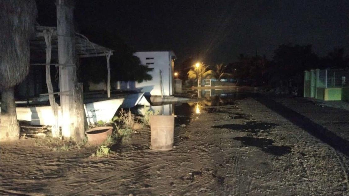 Reporta PC incremento inusual de marea en costa de Guasave