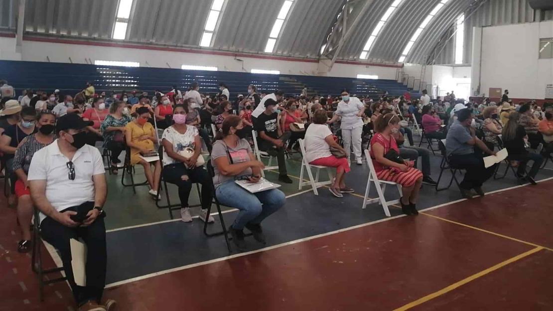 En Los Mochis se han vacunado a más de 21 mil personas en segundas dosis