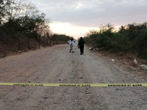 Localizan a hombre sin vida en inmediaciones del ejido El Huizache