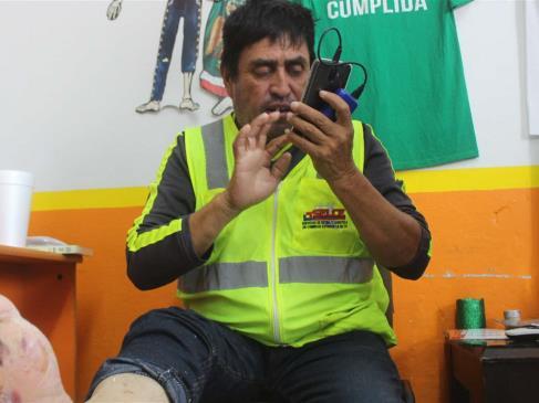 Padre camina desde La Paz hasta CDMX para exigir se investigue desaparición de su hijo