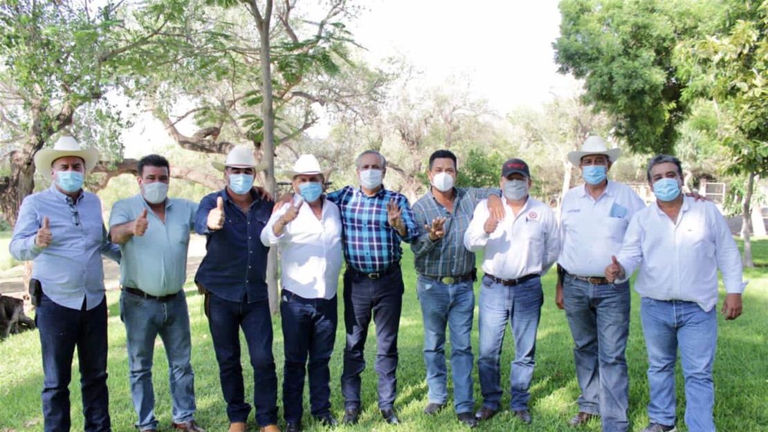 Gerardo Vargas Landeros se reúne con líderes campesinos de la CNC