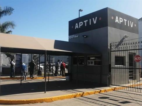 Maquiladora APTIV cierra una semana por paro en ensambladoras