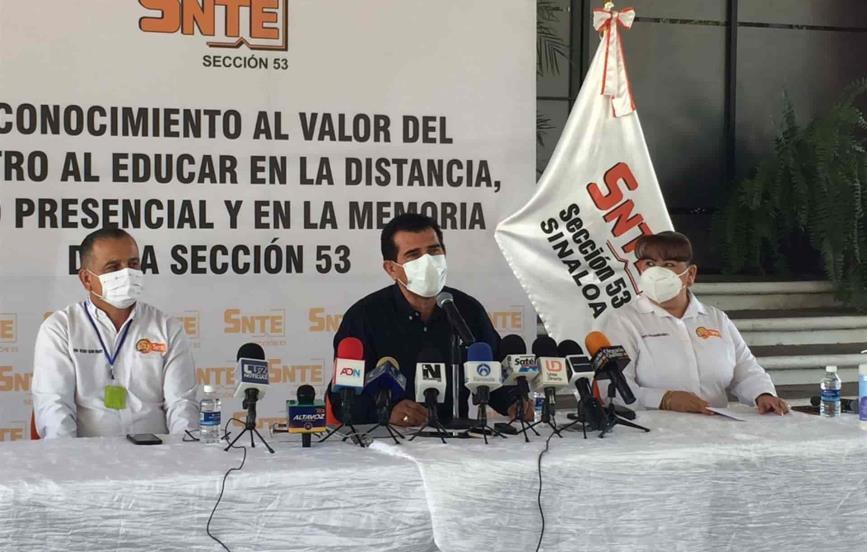 Niños vacunados y semáforo verde, pide SNTE 53 para regreso a las aulas